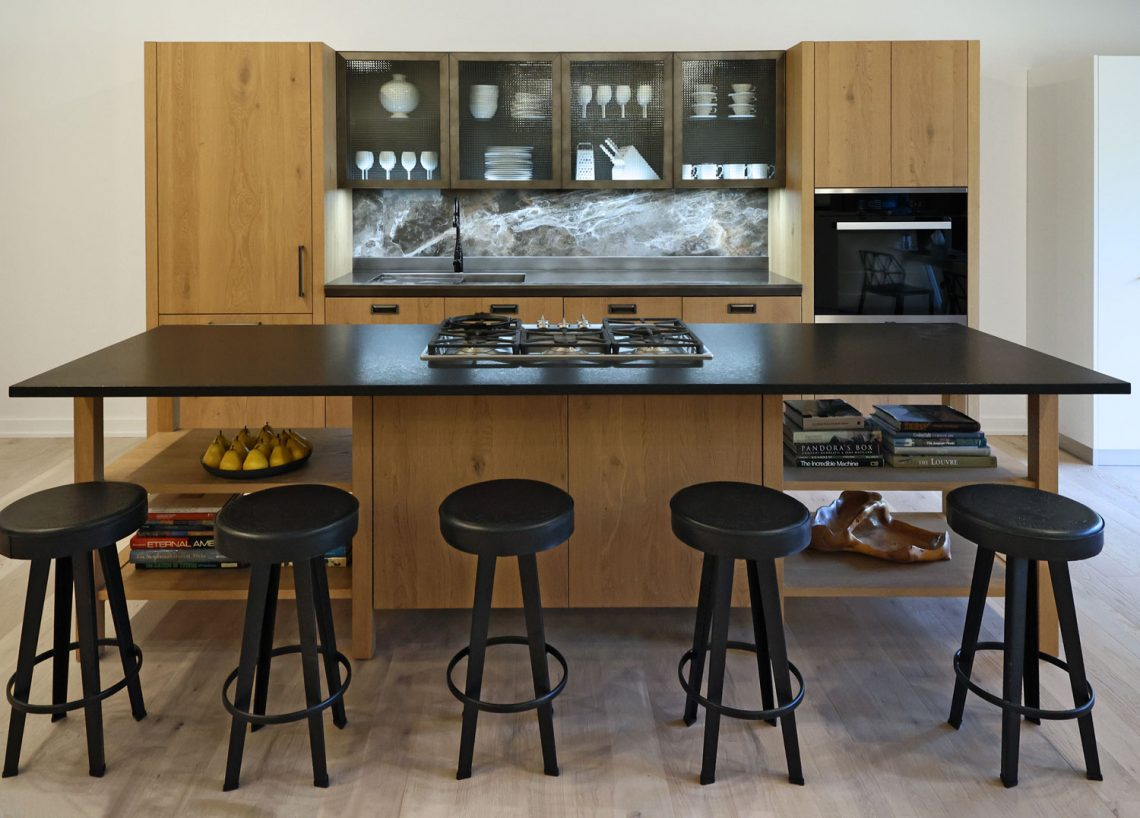 Scavolini, Michigan Design Center, island kitchen, photo by Jeff Aisen