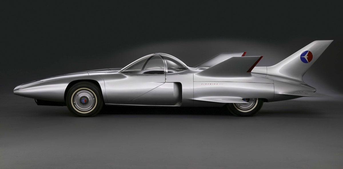 """General Motors. """"Firebird III,"""" 1958. General Motors Heritage Collection."""