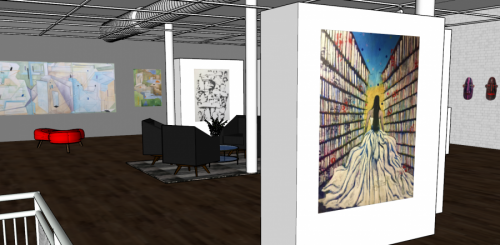 Springboard Arts Chicago Gallery Rendering 2 Courtesy Springboard Arts Chicago